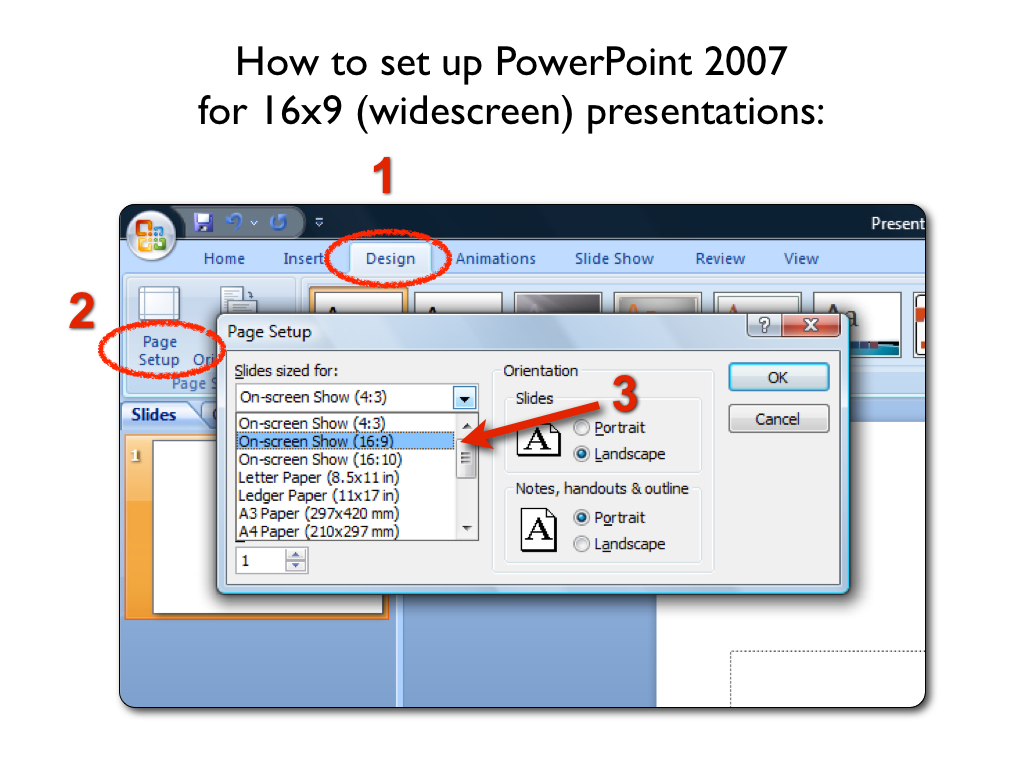 formatting powerpoint for 16×9 (widescreen) presentations | standby., Powerpoint templates